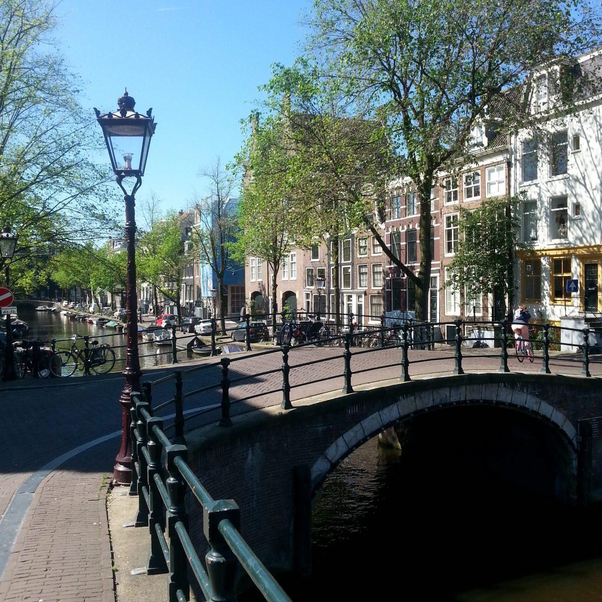 Bevor alle wach sind in Amsterdam
