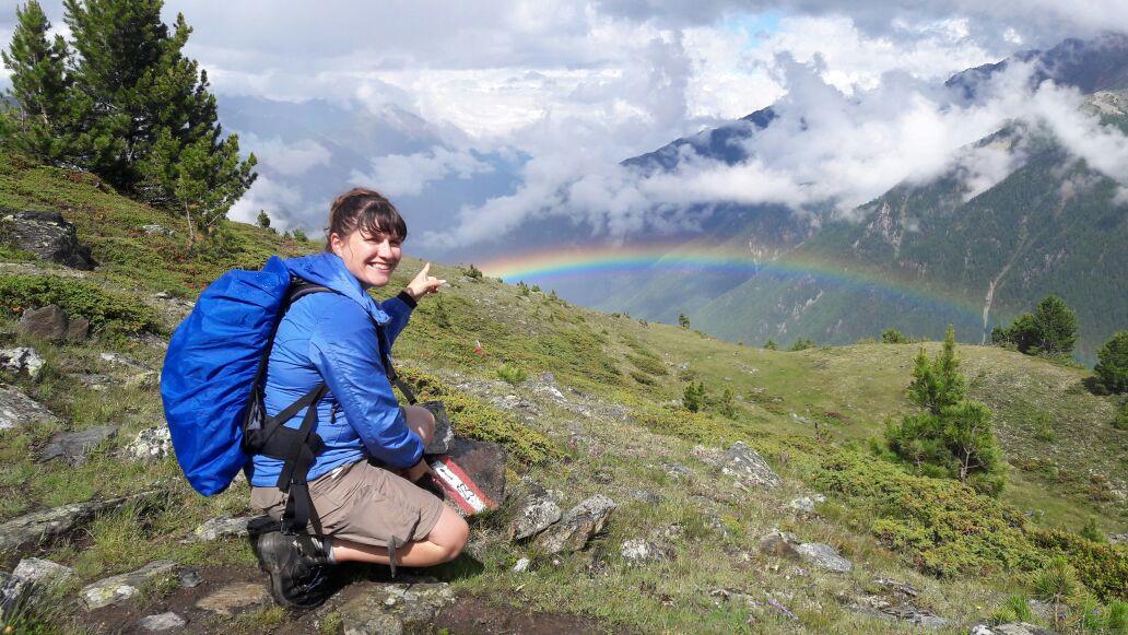 Höhenwanderweg Nr. 23 Martelltal Südtirol