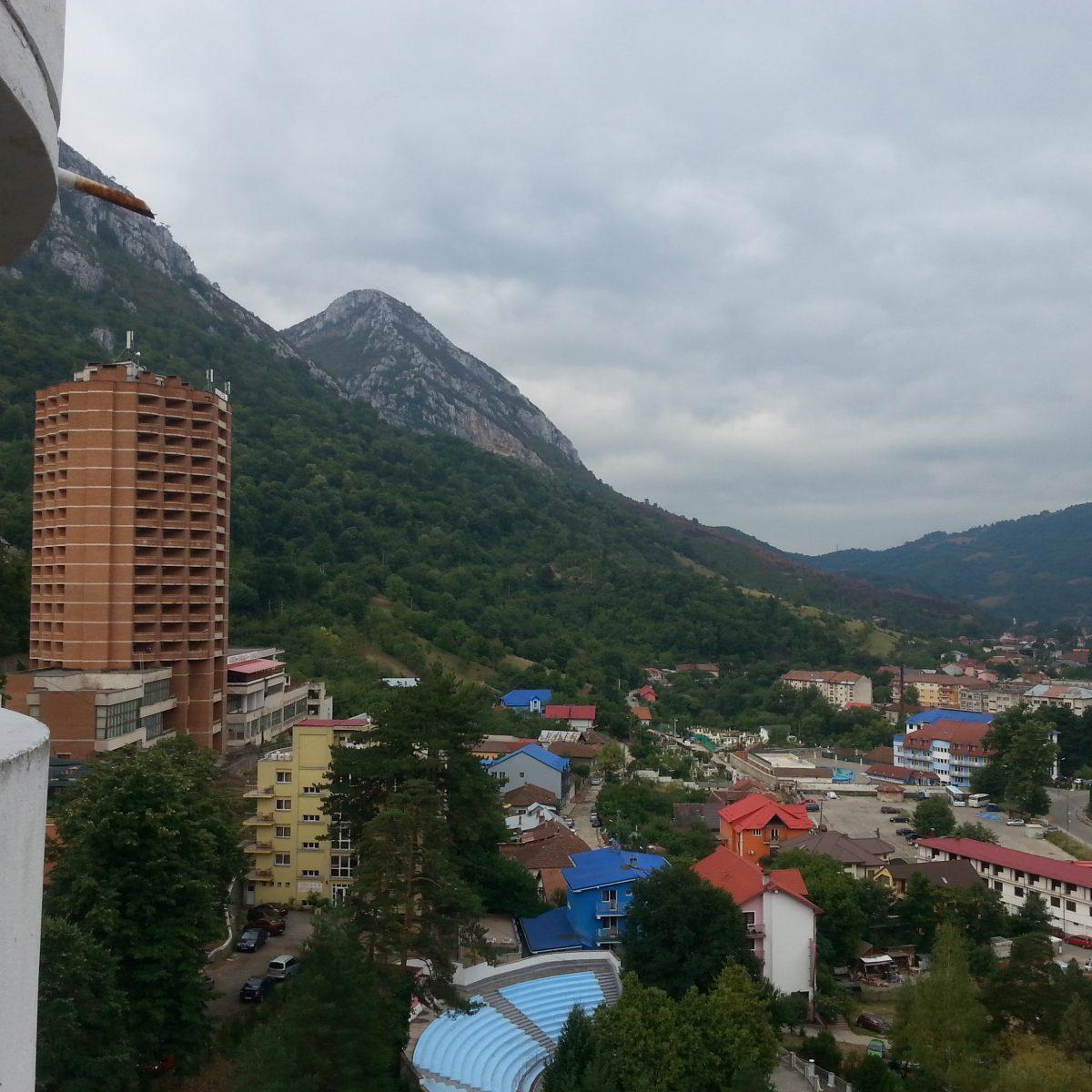 Aussicht vom Hotel beim iTtT Romania