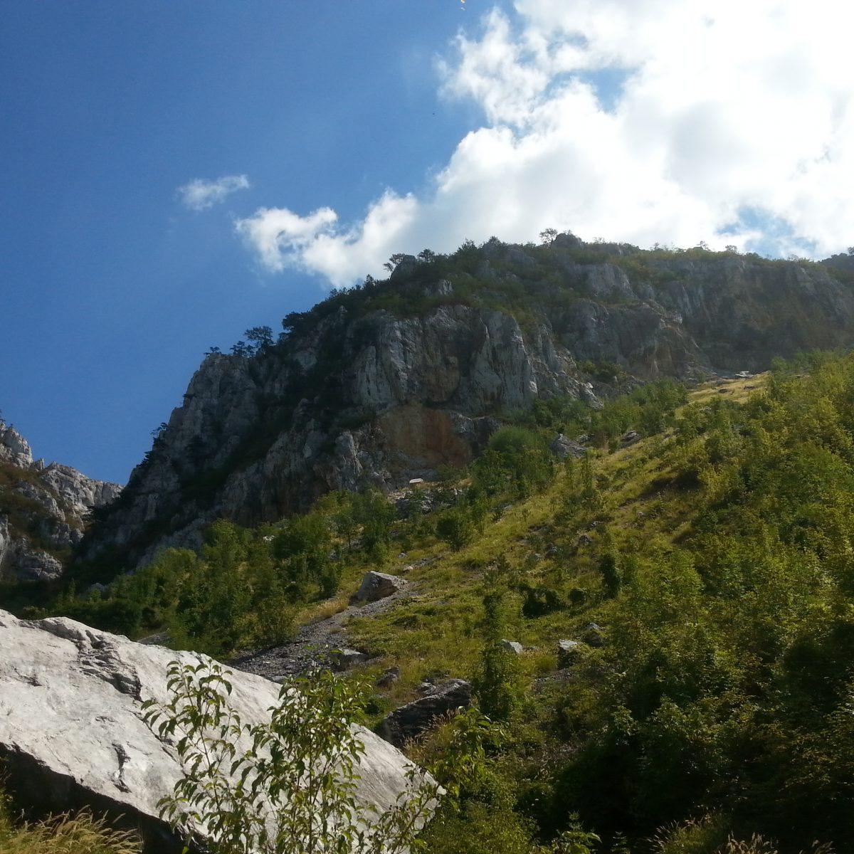 Wanderung bei Baile Herkulane (Rumänien)