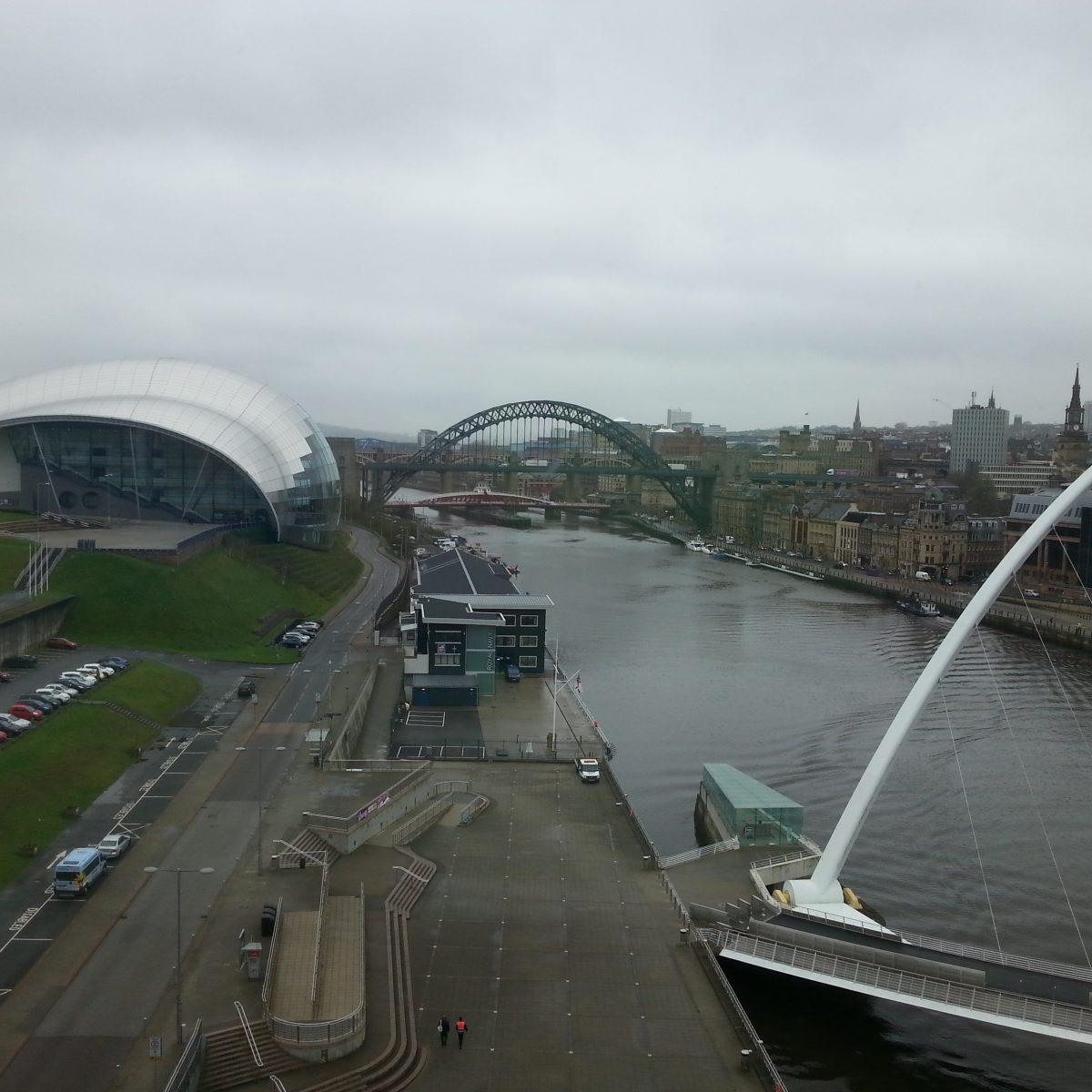 Hafenbrücken in Newcastle