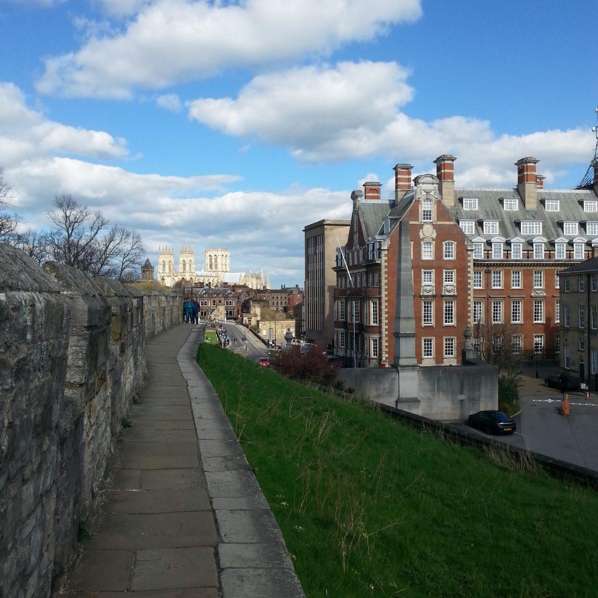 Stadtmauer von York