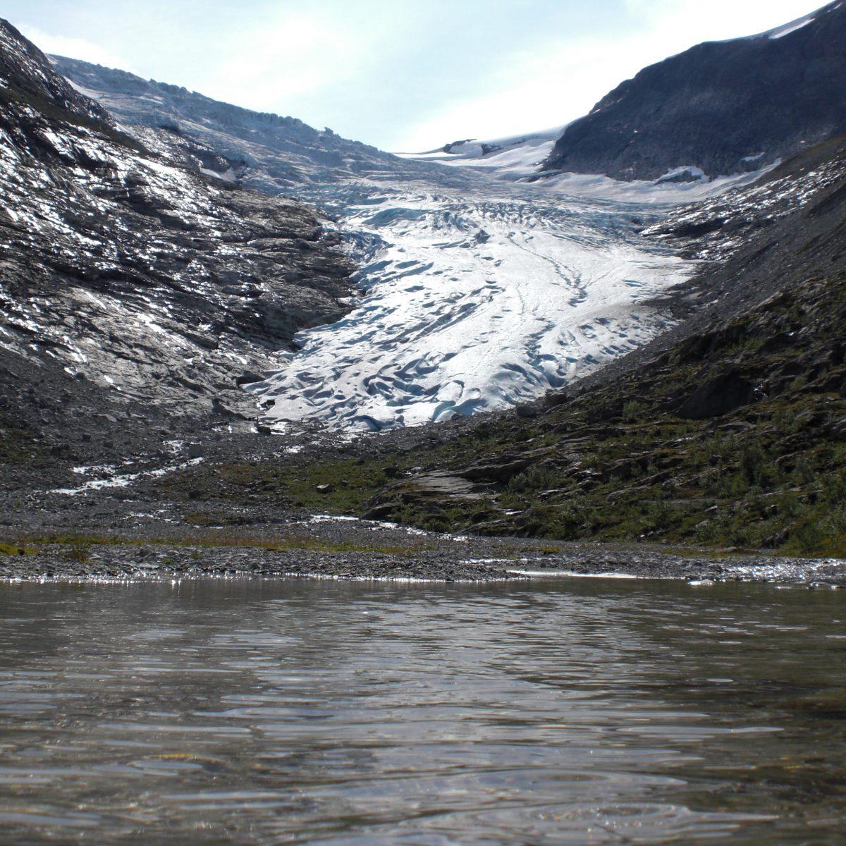 Vor der Gletschewanderung