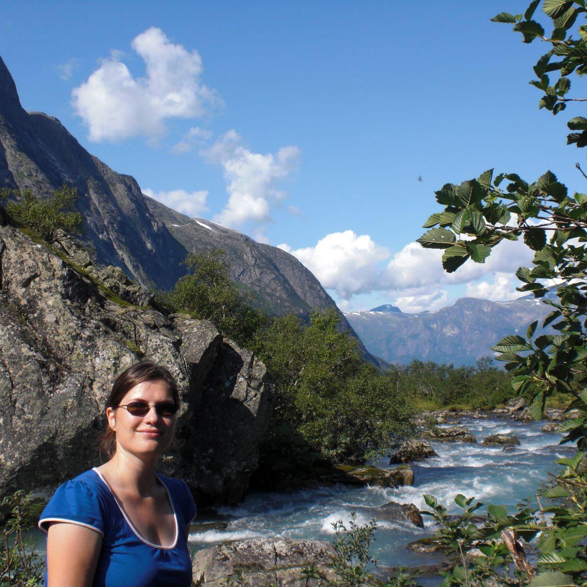 U shaped valley Eiszeit-Faktor in Norwegen