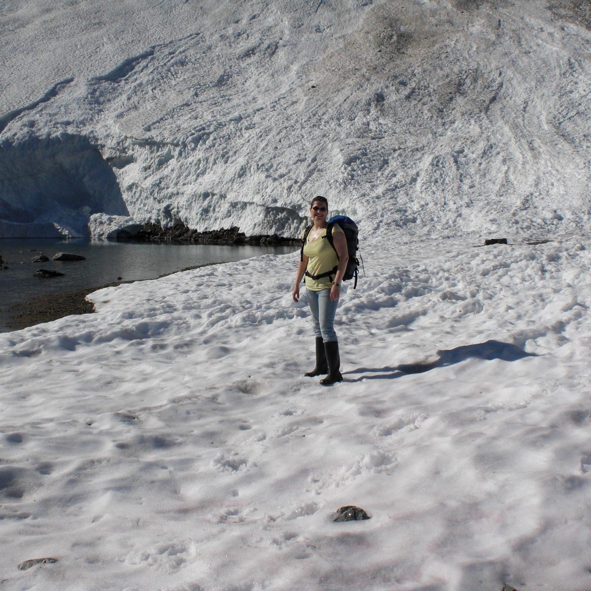 Eis und trotzdem viel zu warm
