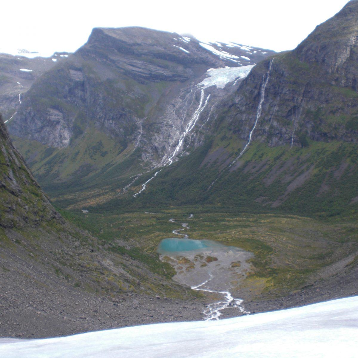 Gletscherwanderung mit traumhaftem Blick