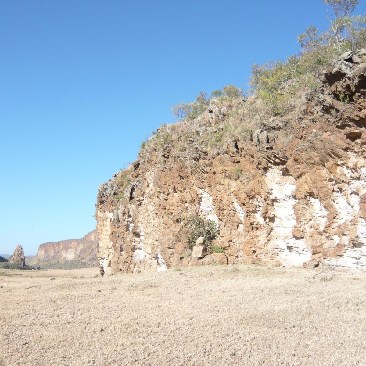 Hells Gate Nationalpark Kenia.....ja wegen der HITZE